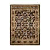 Bijou - Black/Light Gold/Dark Gold Rug - 5'6