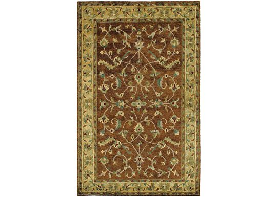 Accessories - Hand-Knotted Rug (Milano-Copper)