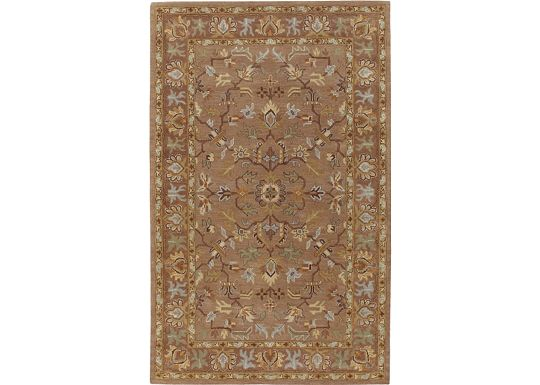 Accessories - Delrey - Mocha Hand-Tufted Rug