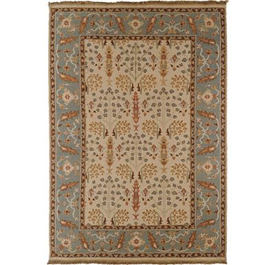 Accessories - Melita - Off White/Brown/Sage Rug