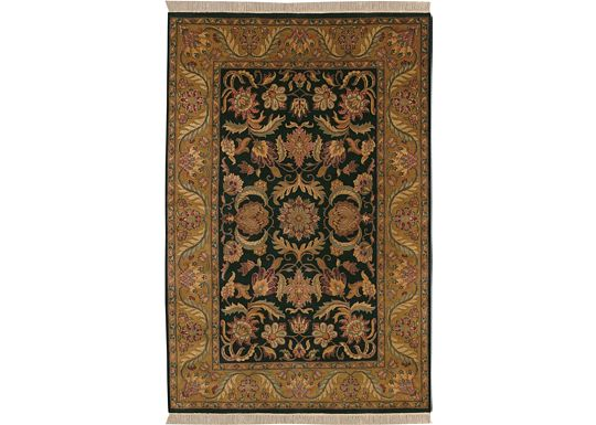 Accessories - Bijou - Black/Dark Gold Rug