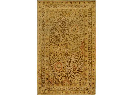 Accessories - Lennox - Cream/Brown Rug