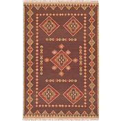 Durango Rug - Brown/Tan/Coral - 5'x8'