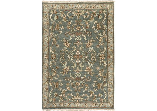 Accessories - Clarissa - Gray/Gold/Raw Umber/Green Rug