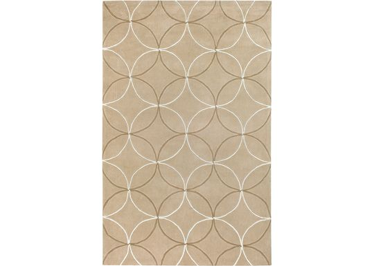 Accessories - Reflections - Tan/Beige/Ivory Rug