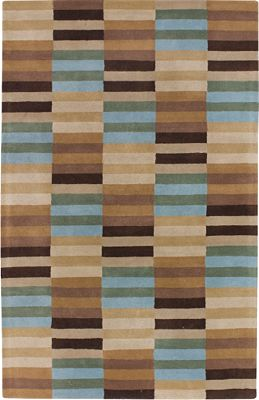 Beyond - Coffee/Multi Hand-Tufted Rug - 5'x8'