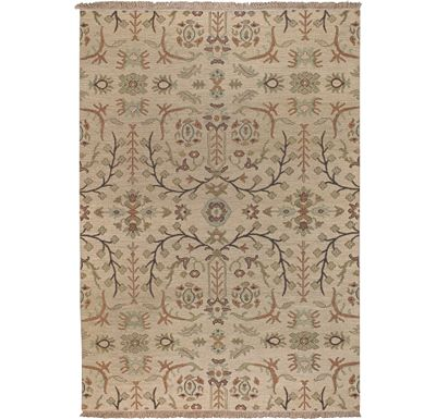 Accessories - Melita - Cream/Multi Hand-Knotted Rug