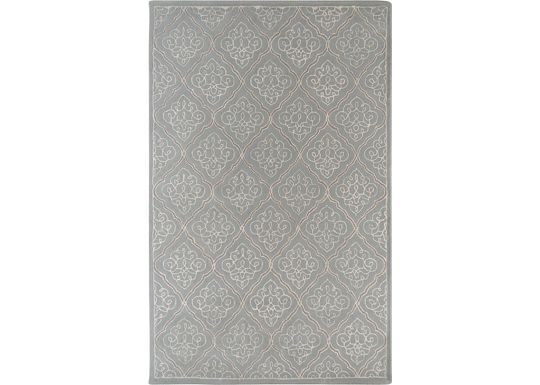 Accessories - Lanai - Pale Blue/White/Gray Rug