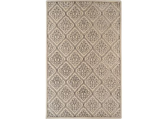 Accessories - Lanai - Ivory/Chocolate Rug
