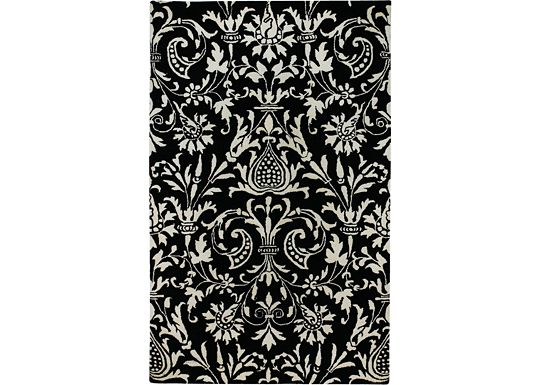 Accessories - Prada - Black/Ivory Rug