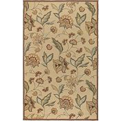 Ari - Beige/Tan/Brown/Moss Rug - 5'x8'