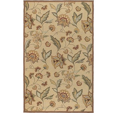 Accessories - Ari - Beige/Tan/Brown/Moss Rug