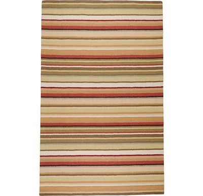 Accessories - Cascade Rug - Red/Rust/Gold