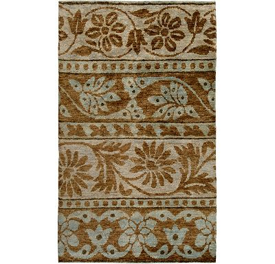 Accessories - Kinsley - Mushroom/Brown/Pale Blue Rug