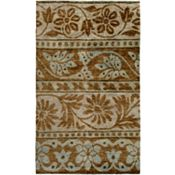 Kinsley - Mushroom/Brown/Pale Blue Rug - 5'x8'