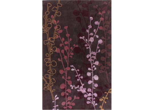 Accessories - Nirvana - Plum/Grape/Raspberry Rug - 5'x8'