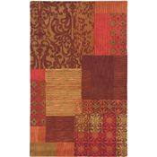 Allure - Burgundy/Rust/Cinnamon Rug - 5'x8'
