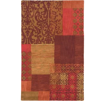 Accessories - Allure - Burgundy/Rust/Cinnamon Rug - 5'x8'