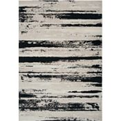 Hollowell - Oatmeal/Gray/Black Rug - 5'3