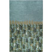 Fair Grounds - Olive/Ivory/Avocado Rug - 5'x8'