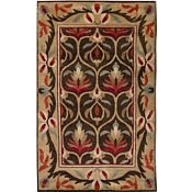 Gentilly - Cumin/Coffee Bean/Pewter Rug - 5'x8'