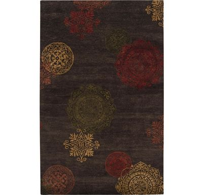 Accessories - Lancomb - Tea Leaves/Russet/Maroon Rug