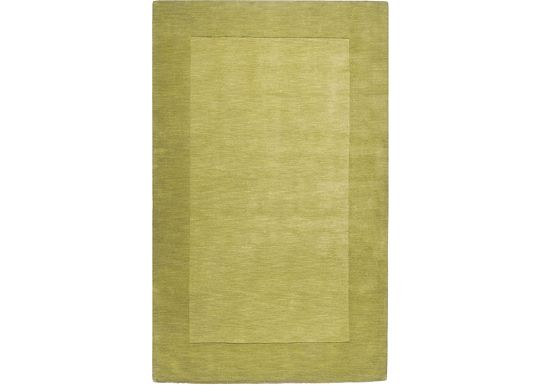 Accessories - Cascade - Lime Green Rug - 5'x8'