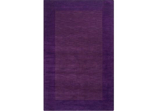 Accessories - Cascade - Plum Rug - 5'x8'