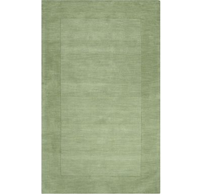 Accessories - Cascade - Green Rug - 5'x8'