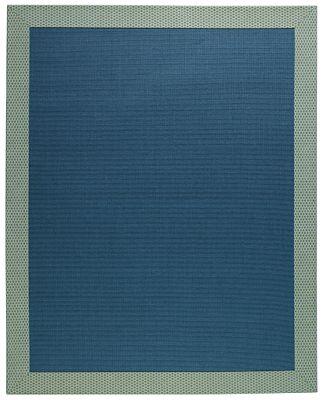 Blue Boucle Rug - 5'x9'