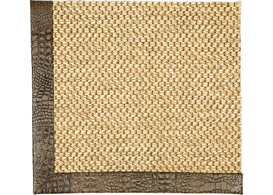 Accessories - Siskiyou Sisal Rug (Embossed Leather)