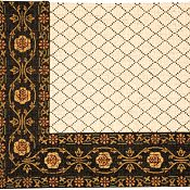 Diamonds 956 Wool Rug - 5'x9'