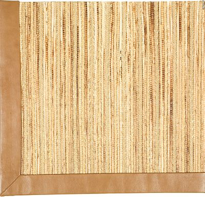 Accessories - Cheena Seagrass Rug (Textured Leather)