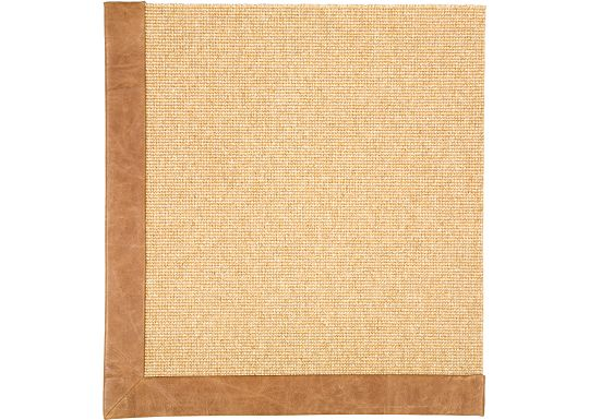 Accessories - Wool Rug (Distressed Leather)
