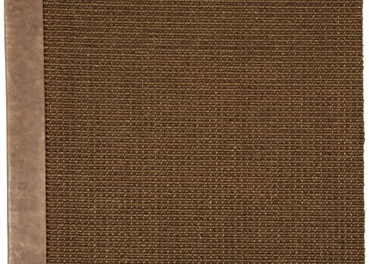 Accessories - Jumbo Sisal Rug (Distressed Leather)