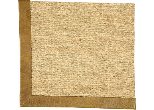 Accessories - Seagrass Rug (Embossed Leather)