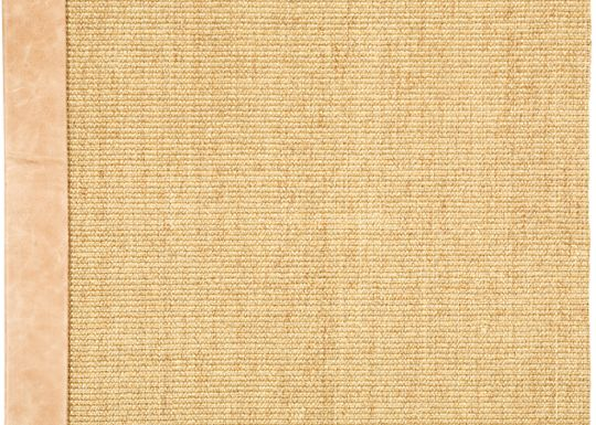 Accessories - Boucle Sisal Rug (Distressed Leather)