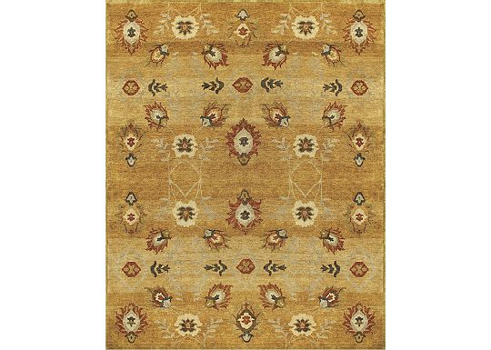 Accessories - Shelton - Gold Rug - 5'6