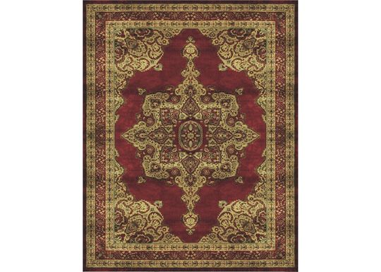 Accessories - Bradston - Red/Red Rug