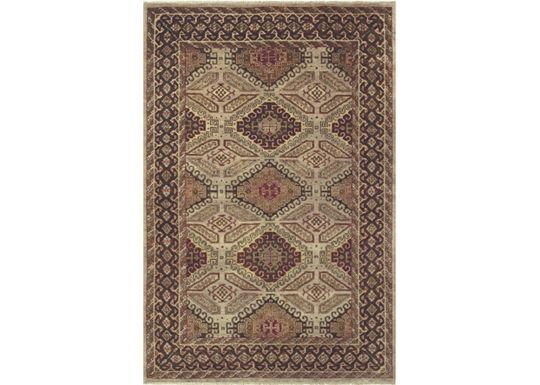 Accessories - Dozier - Camel/Brown Rug