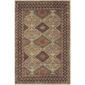 Dozier - Camel/Brown Rug - 5'6