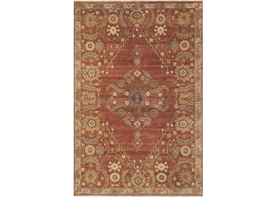 Accessories - Dozier - Rust Rug