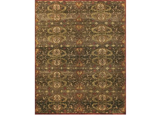 Accessories - Shelton - Brown Rug
