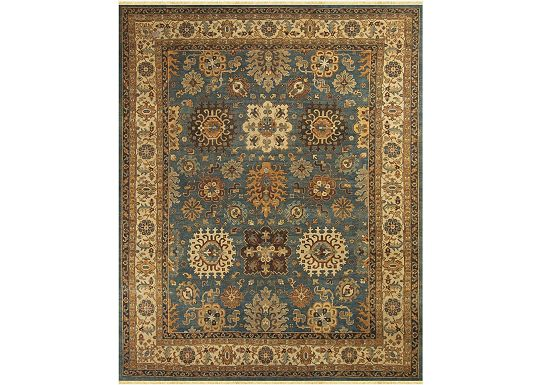 Accessories - Woodlands - Medium Blue/Ivory Rug