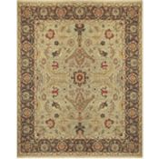 Woodston - Gold/Brown Rug - 5'6