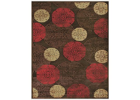 Accessories - Stevenson - Dark Chocolate Rug