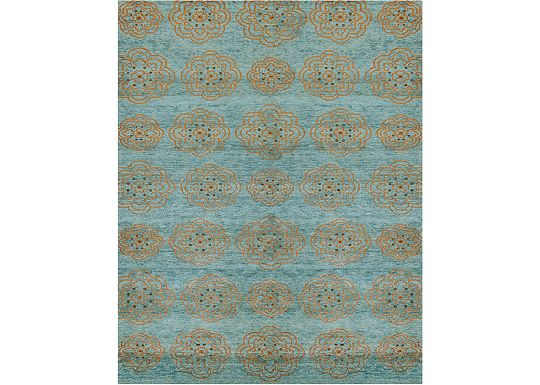 Accessories - Madison - Teal Rug