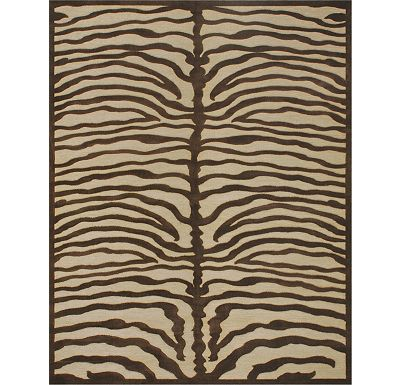 Accessories - Stevenson - Ivory/Chocolate Rug
