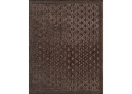 Accessories - Sheffield - Dark Chocolate Rug