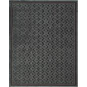 Braxton - Dark Chocolate/Teal Rug - 5'3